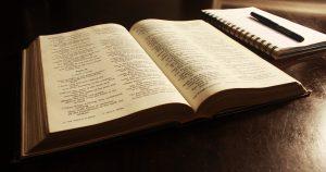 étudier, méditer la Bible